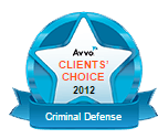 Avvo's Clients' Choice Award, Criminal Defense